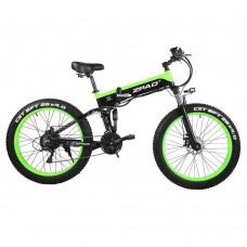 """Electric Folding E-Bike 26"""" Fat Boy Wheels LG 500w"""